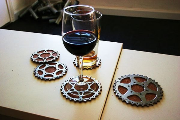 upcycled bike parts 1
