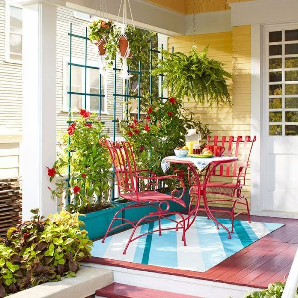 small porch decorating ideas for summer