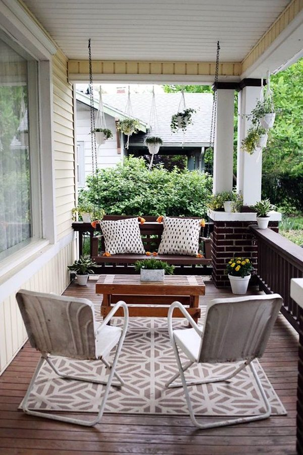 ideas for decorating front porch