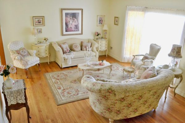 shabby chic living room furniture set
