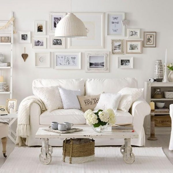 shabby chic ideas for living rooms