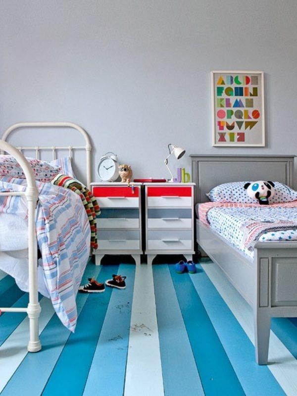 striped floor 1