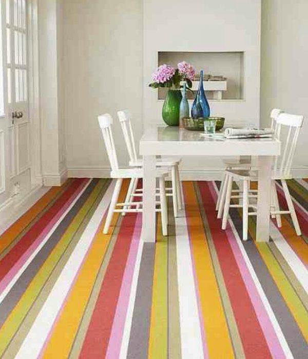 striped wood flooring