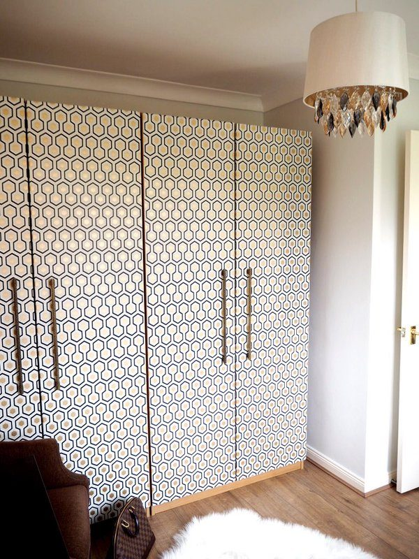 wallpaper for wardrobe doors