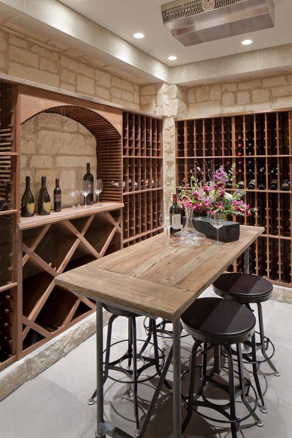 wine room racks
