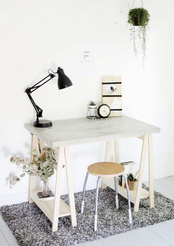 concrete table design