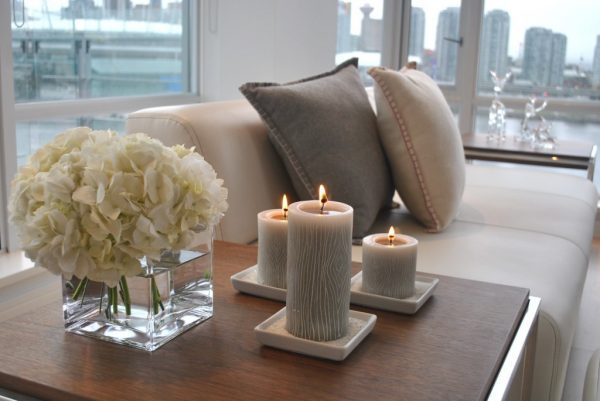candles for home decor
