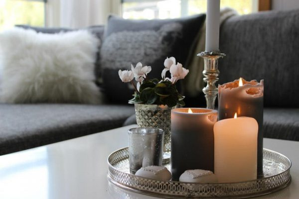 candle centerpieces for living room