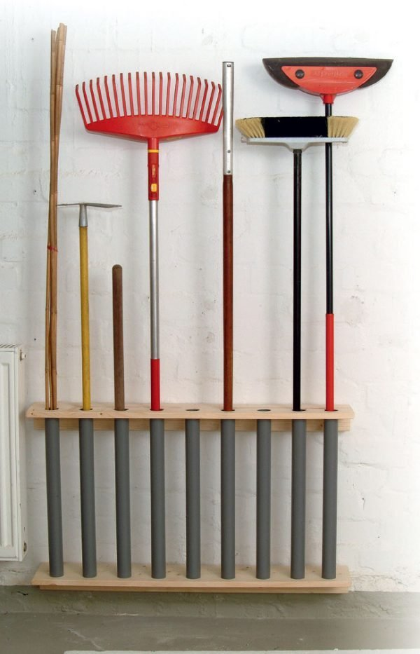 DIY Garden Tool Storage Solutions