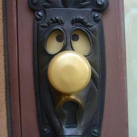 Cool door handles