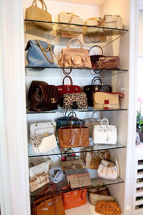 Ideas for storing handbags