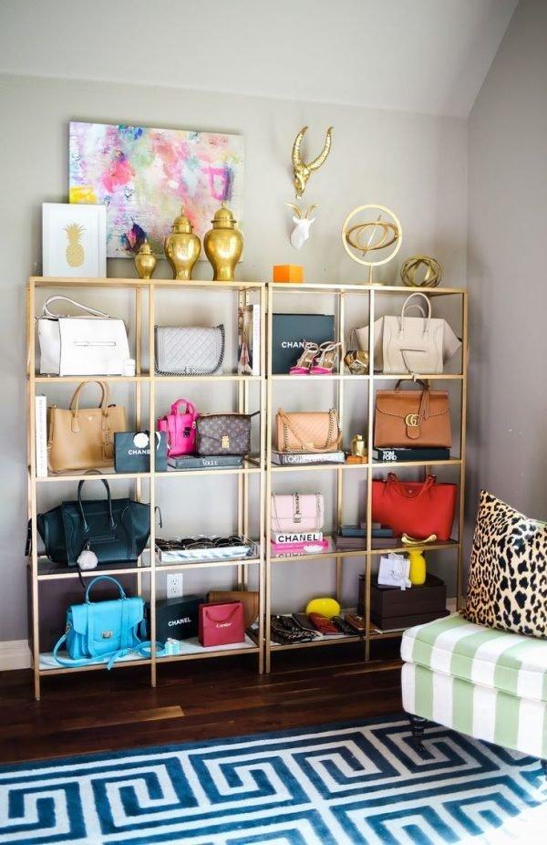 handbag storage solutions