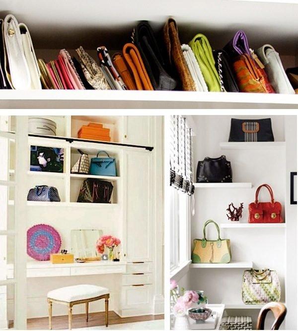 handbag shelf