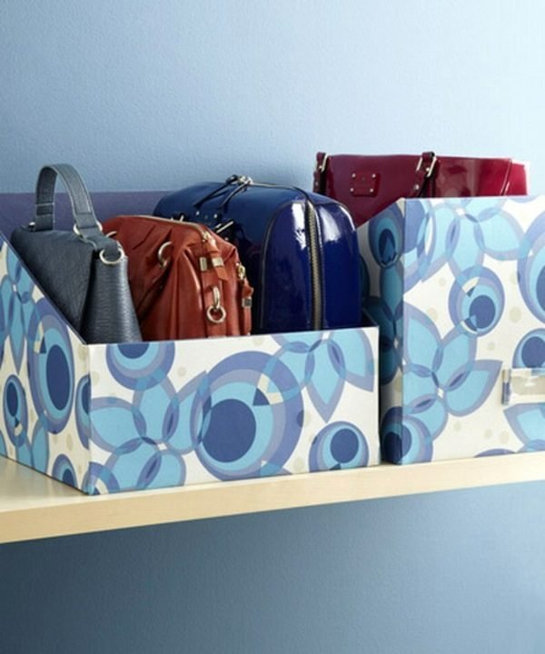 diy handbag storage
