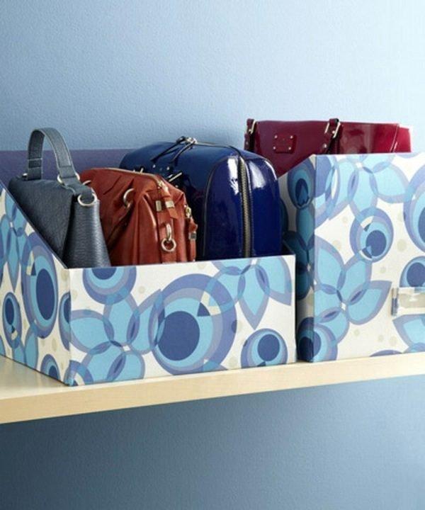 diy handbag storage
