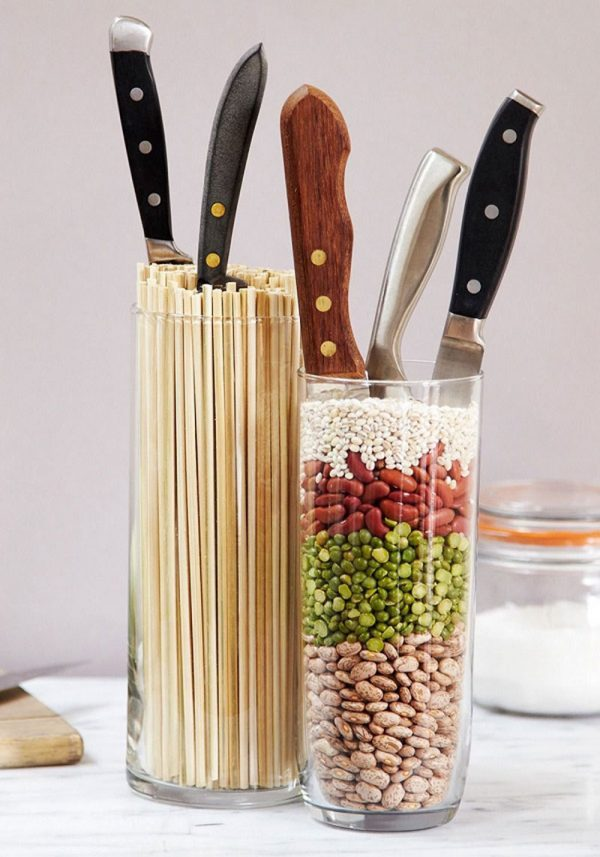 Knife holders for kitchen