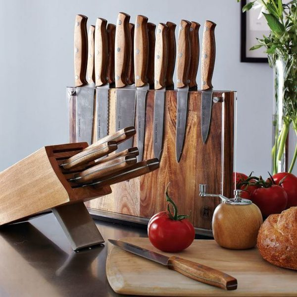 cleaver knife block