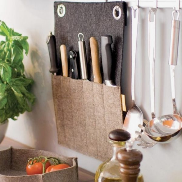 diy kitchen knife holder