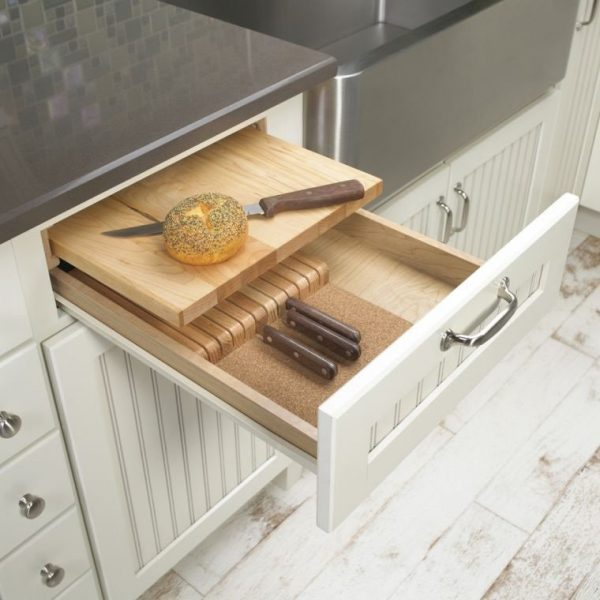 knife holder drawer