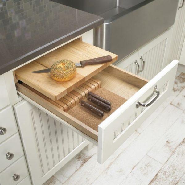 knife holder drawer