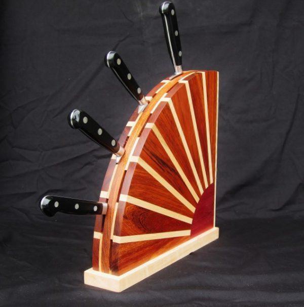 knife holder block