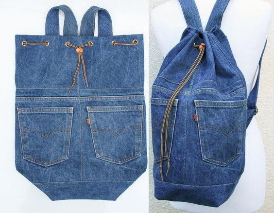 jeans recycle ideas