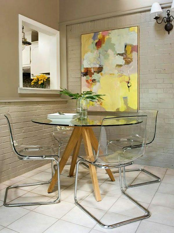 small space dining table