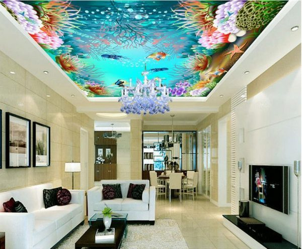 3D Design on ceiling