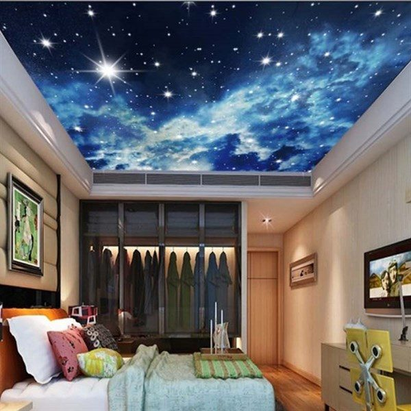 sky ceiling mural wallpaper