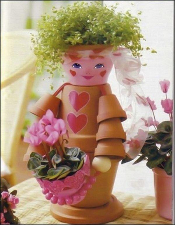 creative flower pots