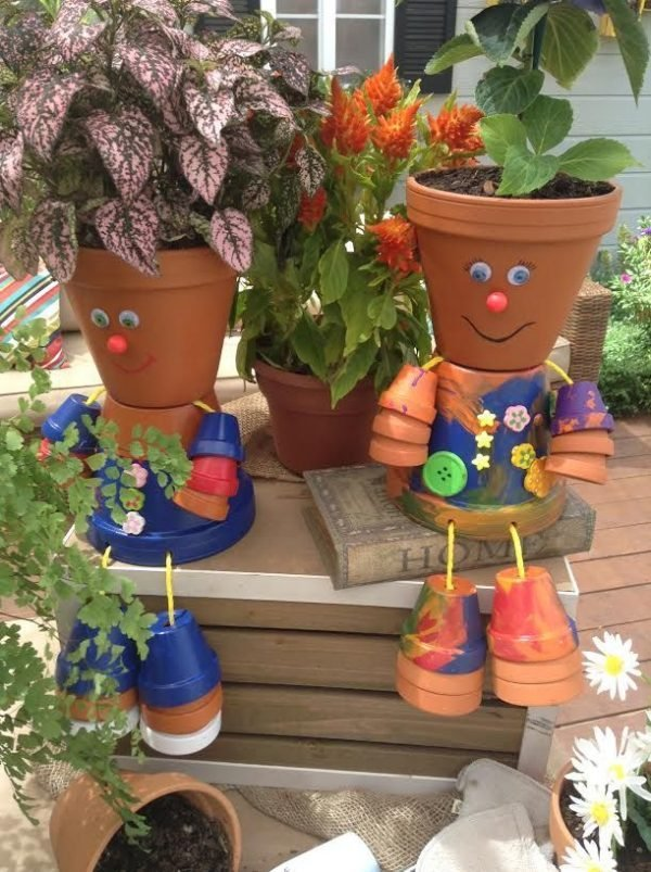 head planter pots