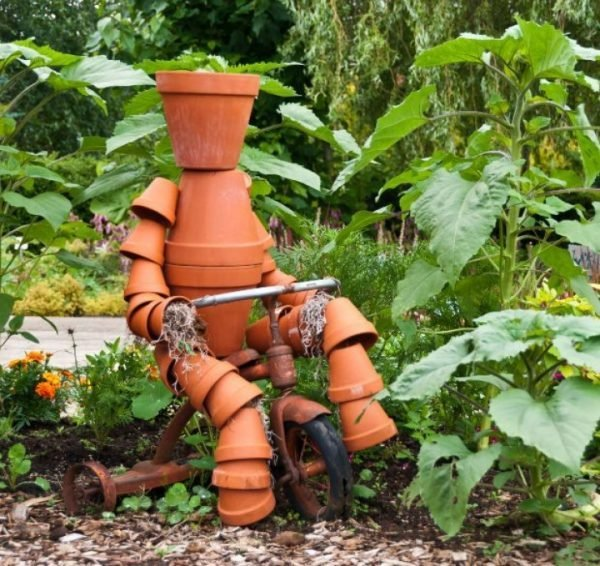 flower pot person