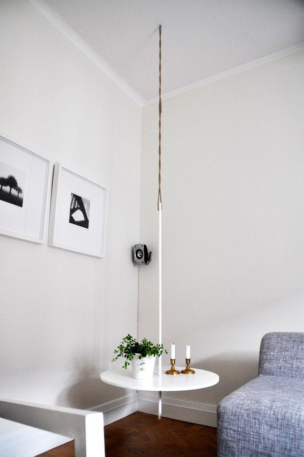 Diy Hanging Table Ideas Little Piece Of Me
