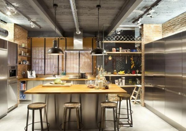 industrial kitchens for homes