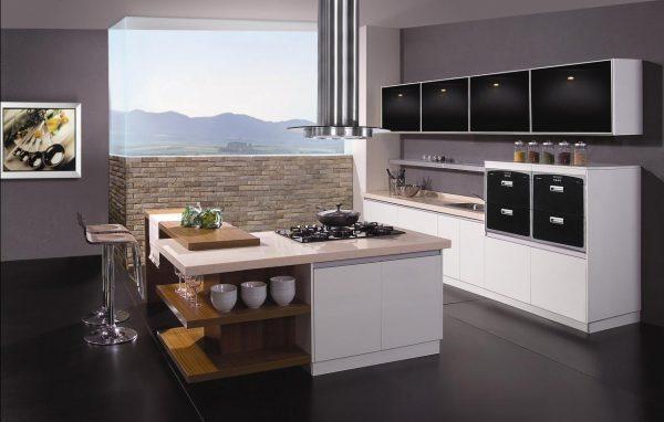 modular open kitchen