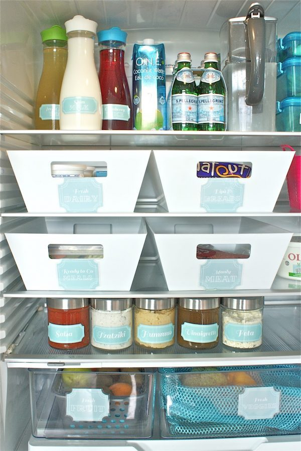 best way to organize freezer