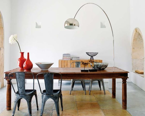 Combination of old and modern furniture 2