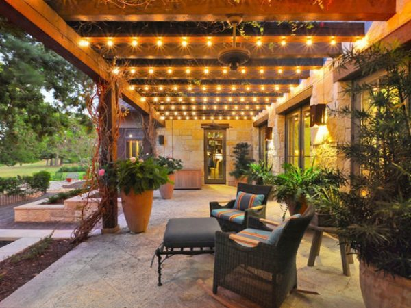 string lights for patio