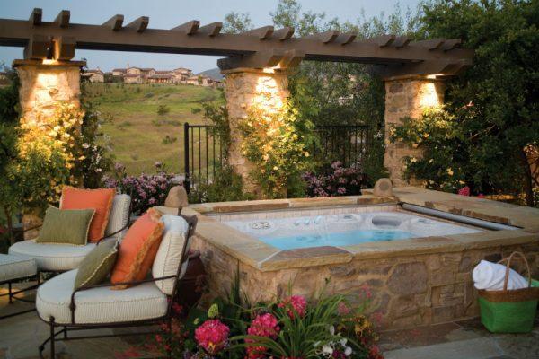 garden spa hot tub
