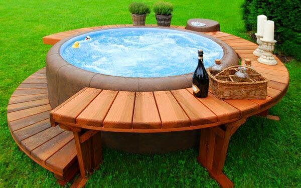 small hot tubs