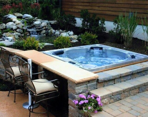 hot tub for garden