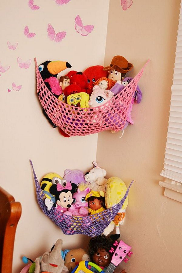 Creative toy storage solutions