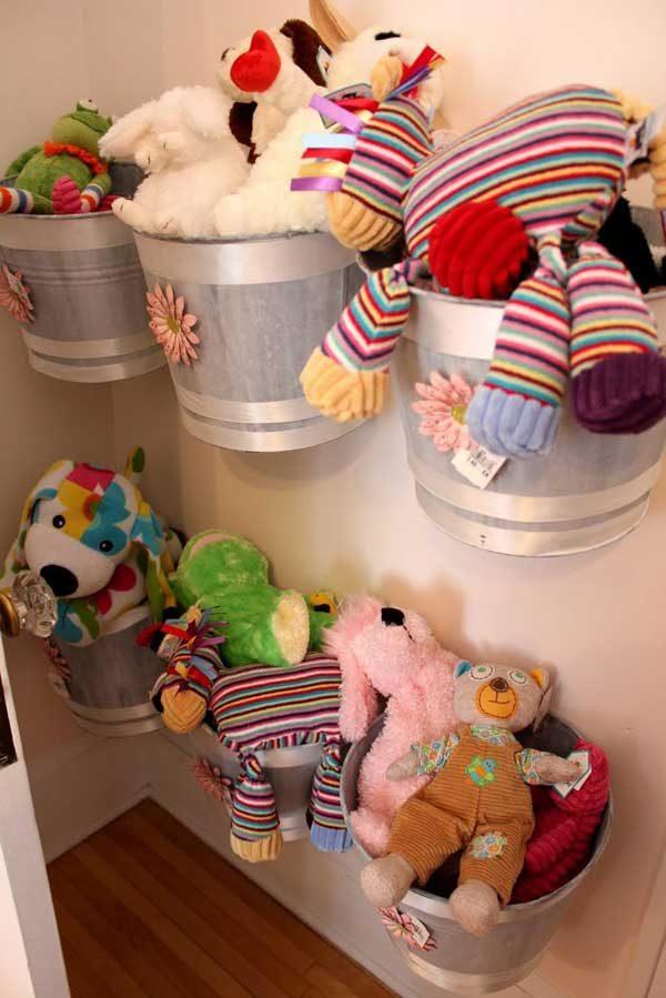 wall toy storage