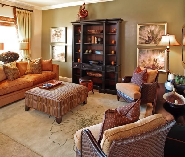 fall decorating ideas for living room