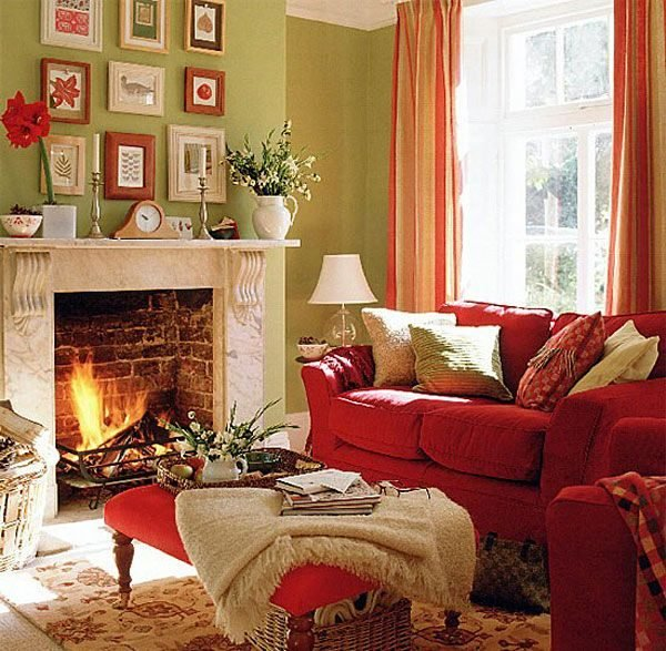 fall colors for home decor