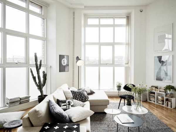 large window decor