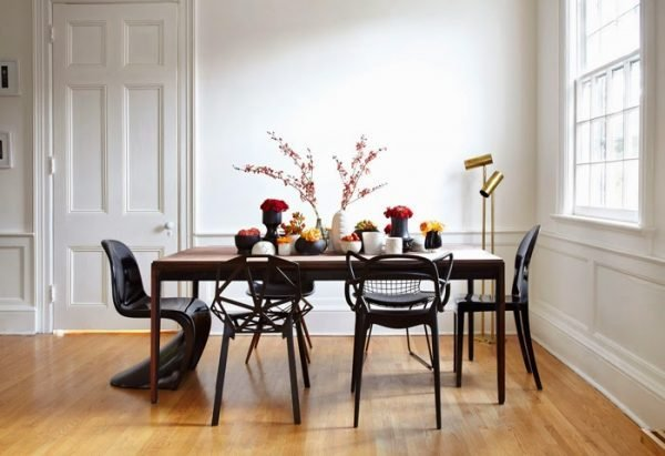 How To Combine Dining Table With Different Chairs