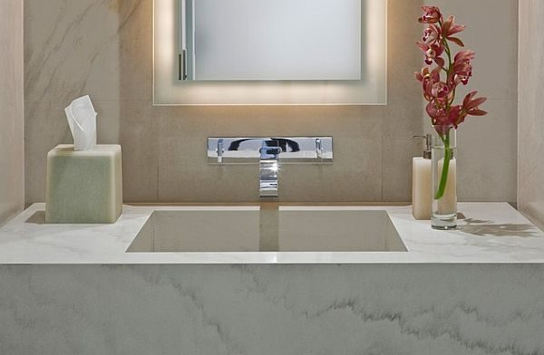 bathroom flower ideas