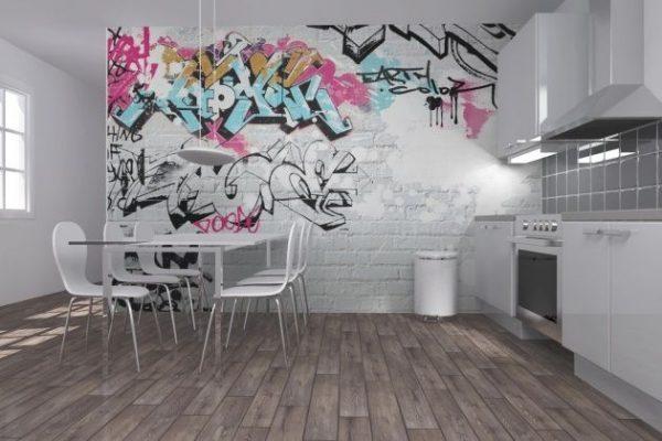 Graffiti interior design