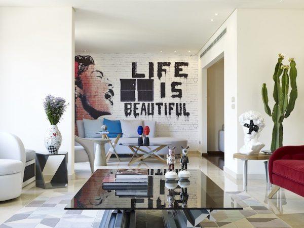 graffiti art home decor